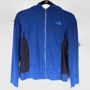 The North Face Blue Two Tone Full Zip Hoodie